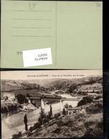 342473,Rhone-Alpes Loire Roanne Pont De La Vourdiat Sur La Loire Brücke - France