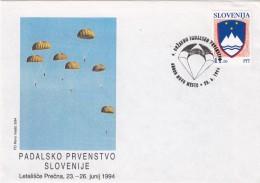 SLOVENIA SLOVENIJA  1994 NOVO MESTO PADALSKO PRVENSTVO NATIONAL CHAMPIONSHIP PARACHUTTING - Slovénie