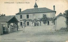 61 - ORNE - Chailloué - Mairie - école - France