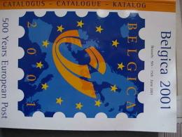 BELGICA 2001 - Mostre Filateliche