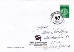 SLOVENIA SLOVENIJA 1996 KOPER CAPODISTRIA POKRAJINSKI ARHIV ARCHIVIO REGIONALE 40 LET ANNI - Slovénie