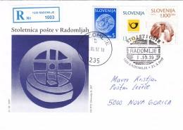 SLOVENIA SLOVENIJA 1997 RADOMLJE STO LET POSTE ANNIVERSARY POST OFFICE - Slovenia