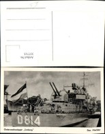 337715,Foto Ak Schiff Kriegsschiff Marine Onderzeebootjager Limburg D 814 Den Helder - Guerra