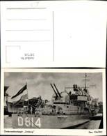 337715,Foto Ak Schiff Kriegsschiff Marine Onderzeebootjager Limburg D 814 Den Helder - Krieg