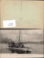 337697,Schiff Kriegsschiff Marine Marine De Guerre Mousqueton Contre Torpilleur - Krieg