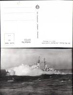 337723,Foto Ak Schiff Kriegsschiff Marine Hr. Ms. Kruiser De Ruyter In De Storm - Krieg
