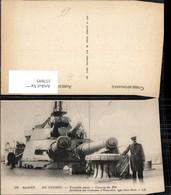 337695,Schiff Kriegsschiff Marine Marine De Guerre Tourelles Avant Canons Artillerie - Krieg