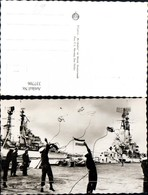 337706,Foto Ak Schiffe Kriegsschiffe Marine Den Helder Keesje Gooien Matrosen M. Seil - Krieg
