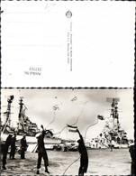 337713,Foto Ak Schiffe Kriegsschiffe Marine Den Helder Keesje Gooien Matrosen M. Seil - Krieg