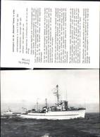 337748,Schiff Kriegsschiff Marine Kustmijnenvegers Van De Beemster Klasse In Actie - Krieg