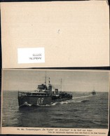 337775,Blatt Schiff Kriegsschiff Marine Hr. Ms. Torpedojagers De Ruyter En Evertsen G - Krieg