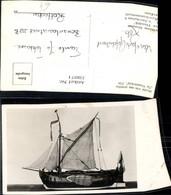 338071,Foto Ak Modell Schiff Segelschiff Model Van Een Potschip De Vriendschap 1734 R - Voiliers