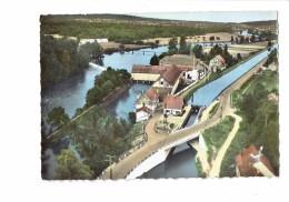25 - COLOMBIER-FONTAINE - Doubs - En Avion Au Dessus De ... - N° 6 LAPIE - 1966 - Canal écluse - France