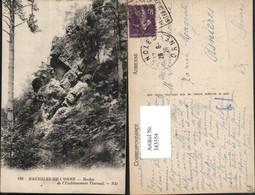 343354,Basse-Normandie Orne Bagnoles-de-l'Orne Rocher De L'Etablissement Thermal Fels - France