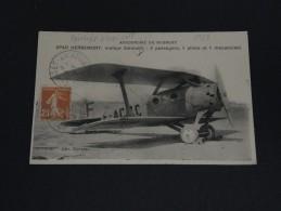 FRANCE - Carte Postale Aérodrome Du Bourget Oblit Bourget Aviation - 1928 - A Voir - P20201 - Poste Aérienne