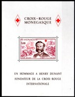 MONACO     BF 15  * *   Henri Dunant Croix Rouge - Rotes Kreuz