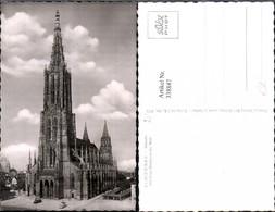 338847,Foto Ak Kirche Ulm A. D. Donau Münster - Kirchen U. Kathedralen