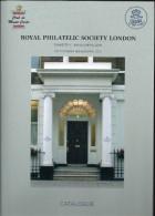 ROYAL PHILATELIC SOCIETY LONDON EXPOSITION à MONACOPHIL 376 Pages Reliure Jacquette Papeir Glacè - Littérature