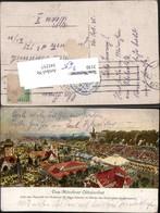 345257,Künstler AK M. Zeno Diemer München Münchner Oktoberfest - Non Classificati