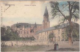 27314g  CHATEAU -EGLISE  - Dampremy - 1903 - Colorisé - Charleroi