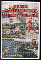 1936 !  GREAT YARMOUTH AND GORLESTON ON SEA - Official Travel Guide With 104 Pages In Good Condition ! - Dépliants Touristiques