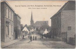 27326g   RUE DE L'EGLISE - KERKSTRAAT - Anseghem - 1912 - Anzegem