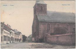 27345g  PLACE - Strée - 1908 - Colorisé - Beaumont