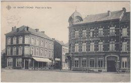 27356g  HOTEL DES VOYAGEURS - CAFE - RESTAURANT - PLACE DE LA GARE - Saint-Trond - SBP 16 - Sint-Truiden
