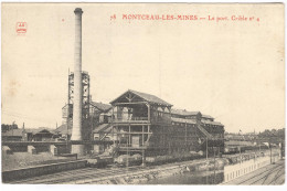 CPA Montceau Les Mines - Le Port - Crible N°4 - Circulée En 1915 - Montceau Les Mines