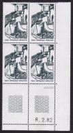 FRANCE 1982 Yvert N° 2163 Neuf Coin Daté -8.2.82 Chateau Fort Et Donjon De 26 CREST DROME