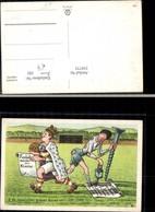 339775,Künstler Ak Sport Fussball Humor O Du Launischer Grüner Rasen - Fussball