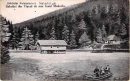 Üdvözlet Felsövisóról  Makerlói Gát   Salutári Din Viseul De Sus.  Iazul Makerló - Romania