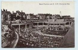 Clacton-on-Sea - Band Pavilion And E. Cliff - Clacton On Sea