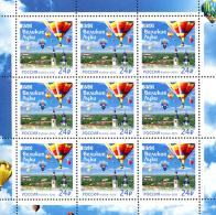Russia, 850th Foundation Anniversary Of Velikiye Luki Cityl 2016, Sheet Of 9 - Fogli Completi