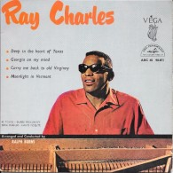 """Ray CHARLES-""""Georgia On My Mind""""-super 45 T.(4 Titres)-ABC-PARAMOUNT-BE - Blues"""