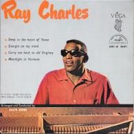 Ray CHARLES-Georgia On My Mind- 45 T.(4 Titres)-ABC-PARAMOUNT--BE - Blues