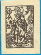 Holycard    St.  Willibrordus - Devotieprenten