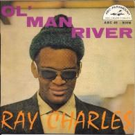 """Ray CHARLES-""""Ol' Man River""""-super 45 T.(2 Titres)-ABC-VEGA-TBE - Blues"""