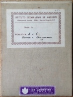 Geographical Map ~ 1908: Como + Bergamo (Italy) Sheet 3 + 4, Carta D´ Italia Del Touring Club Italiano - Geographische Kaarten