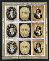 Säo Tome Und Principe 1981 Royal Wedding - Charles Und Diana Mi.Nr. 700/02 A Kleinbogen ** - Sao Tome Et Principe