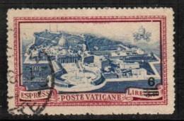 VATICAN   Scott # E 7 VF USED - Vatican