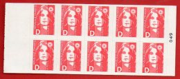 Timbres - Sabine De Briat N° 2712 - Lettre D - Valeur 24.00 Fr (3.66€) - Usados Corriente