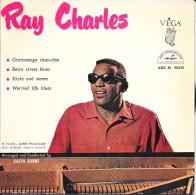 "Ray CHARLES-""Chattanooga Choo-choo""-super 45 T.(4 Titres)-ABC-PARAMOUNT-BE - Blues"