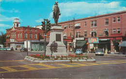Etats-Unis - New Hampshire - Rochester - Central Square - état - Rochester