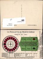 355008,Spiele La Roulette De Monte Carlo Regie Du Jeu Casino Glückspiel - Spielzeug & Spiele