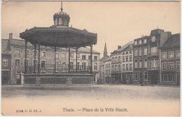 27392g  KIOSQUE A MUSIQUE - PLACE DE LA VILLE HAUTE - Thuin - 1908 - Thuin