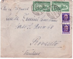 Lettera  Espresso Da Rovigo  A Rovereto Del  6/11/1944   B422 - Marcophilia