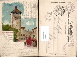 350447,Künstler Litho F. Voellmy Rheinfelden Obertorturm Turm Kt Aargau - AG Aargau