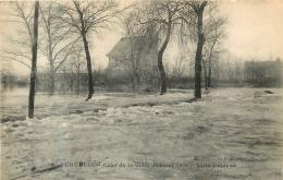 VERNEUIL CRUE DE LA SEINE 1910 VILLA DUJANZE - Verneuil Sur Seine