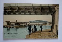 78 - CONFLANS-FIN-D'OISE - Sous Le Pont Suspendu - Conflans Saint Honorine